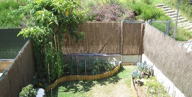 Huerto en jardin feng shui hoy lowcost - Huerto y jardin ...