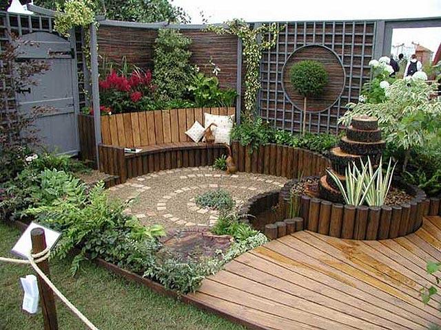 Jardines con diseño feng shui
