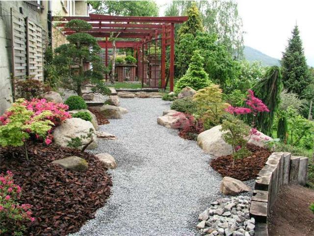 decoracion jardin feng shui