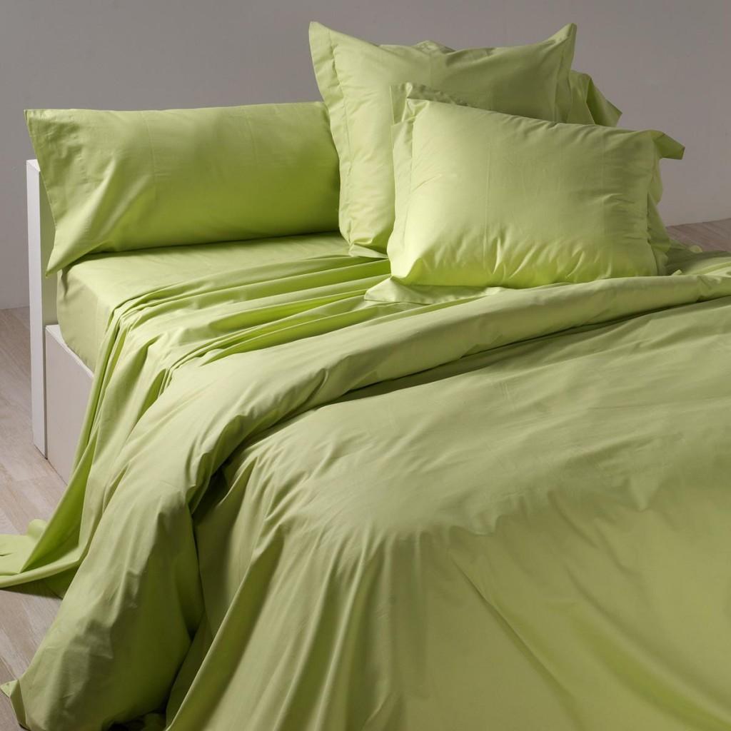 Ropa de cama low cost verde