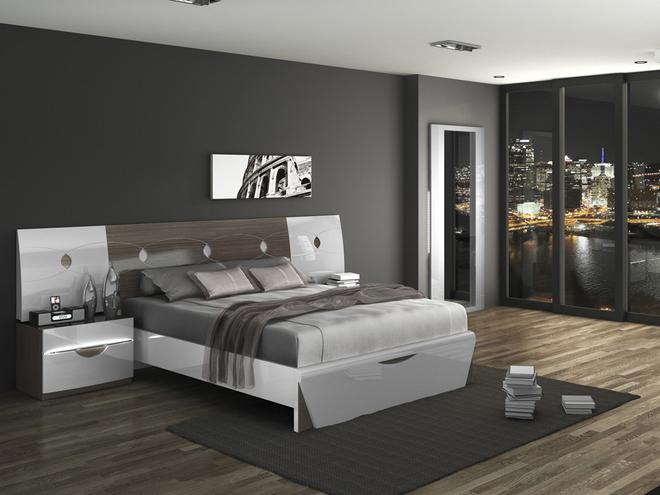Habitaciones de matrimonio los 10 imprescindibles hoy - Habitacion gris y blanca ...