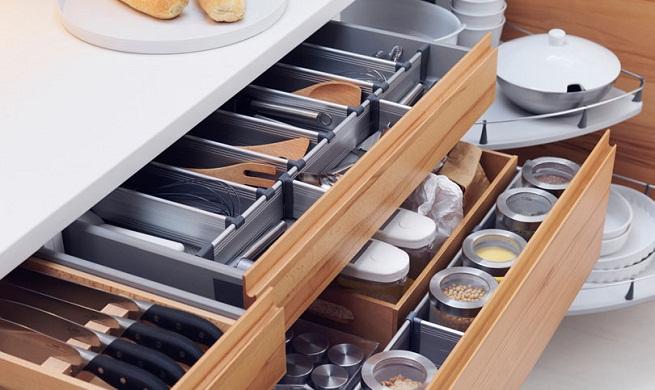 13 organizadores para cajones imprescindibles en tu cocina hoy lowcost - Cajoneras de cocina ...