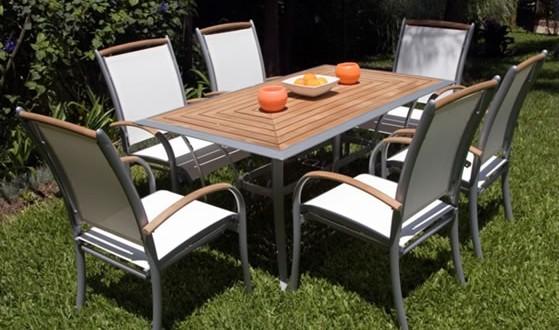 Conjunto de jardin en aluminio hoy lowcost for Conjunto jardin aluminio