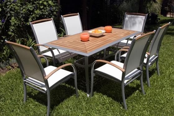 La mejor decoraci n de exteriores de casas hoy lowcost for Muebles de exterior aluminio