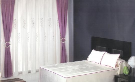 Cortinas combinadas con abrazaderas hoy lowcost - Abrazaderas para cortinas ...