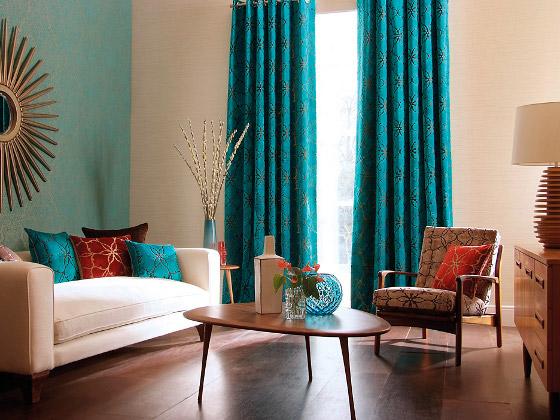 Novedades en dise o de cortinas 2018 hoy lowcost for Decoracion de salas en turquesa