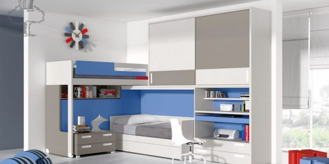 Decoracion dormitorios juveniles hoy lowcost - Decorar habitaciones juveniles pequenas ...