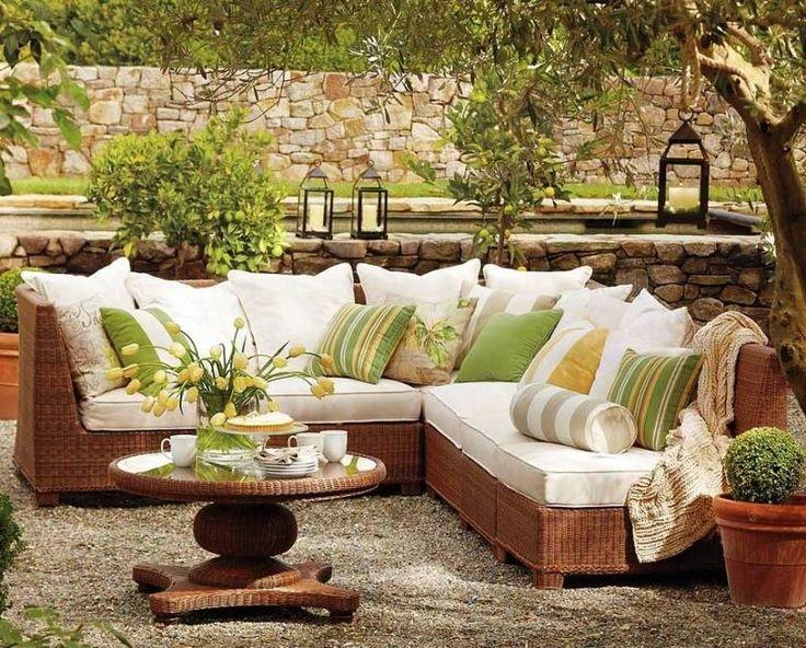 La mejor decoraci n de exteriores de casas hoy lowcost for Jardines de casas rusticas