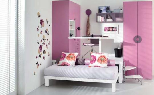 Como Decorar Las Habitaciones Juveniles Pequenas 10 Buenas Ideas - Como-decorar-habitacion-juvenil-femenina