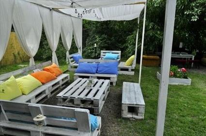 La mejor decoraci n de exteriores de casas hoy lowcost for Adornos jardin baratos
