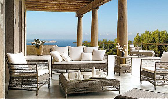 La mejor decoraci n de exteriores de casas hoy lowcost - Muebles de terraza ...