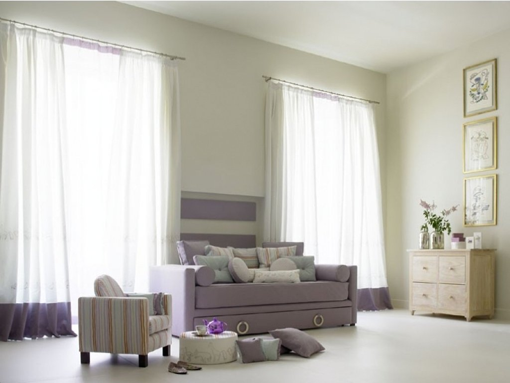 Novedades en dise o de cortinas 2018 hoy lowcost - Cortinas para salon estilo moderno ...