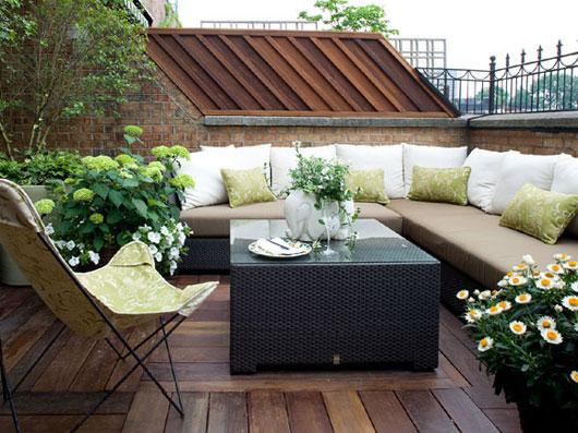 muebles resistentes de exterior