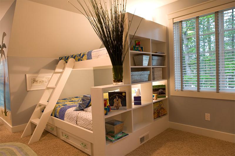 diseño mueble juvenil espacios pequeños en vertical