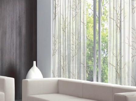 Dise os de cortinas salon hoy lowcost - Diseno de cortinas para salon ...