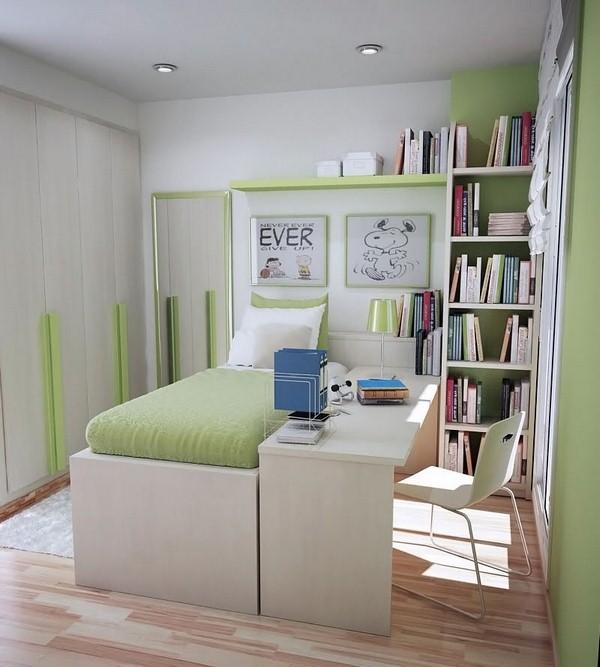 distribucion habitaciones juveniles pequeñas
