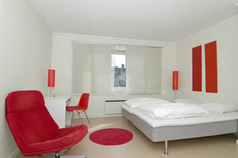 habitacion matrimonio minimalista