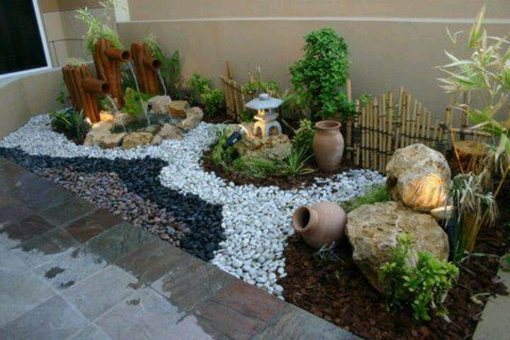 Decorar Jardin Con Gravas De Colores