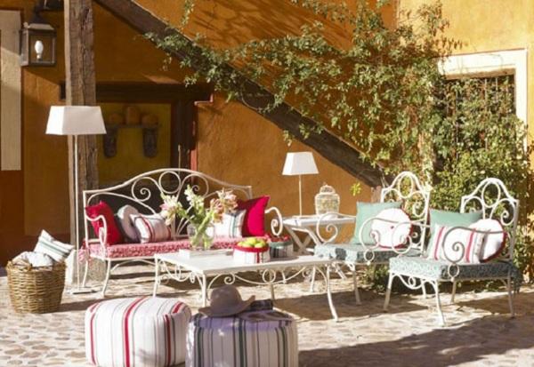 muebles de forja para jardin