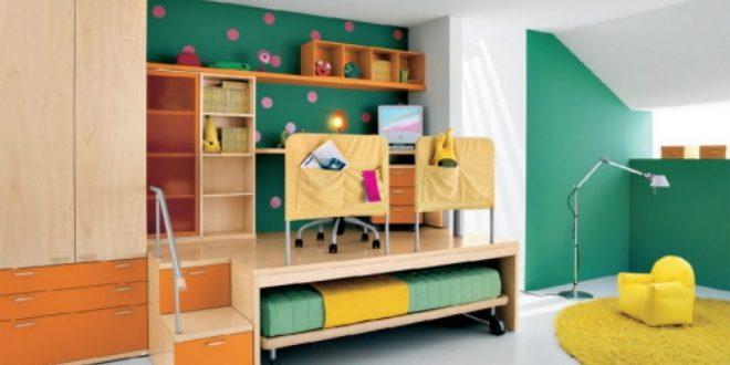 Habitacion juvenil escritorio elevado hoy lowcost for Escritorio habitacion juvenil