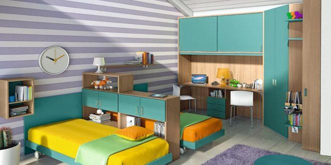 Cómo decorar las habitaciones juveniles pequeñas. 10 buenas ideas