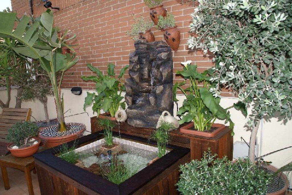 pequeo jardin con estilo feng shui