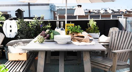 La mejor decoraci n de exteriores de casas hoy lowcost for Vallas jardin ikea