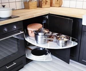 Cocinas modernas 13 organizadores para cajones elegantes - Mesa esquinera cocina ...
