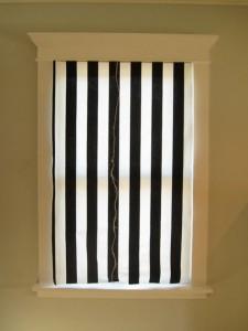 original cortina abierta baño