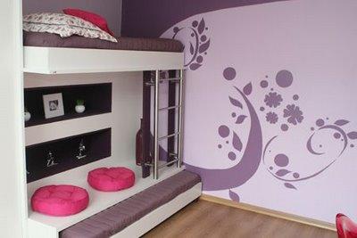 los vinilos en habitaciones pequeñas