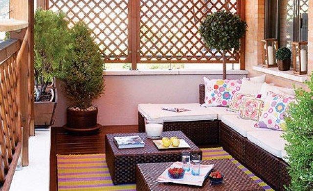 Decoracion balcones y terrazas p hoy lowcost - Terrazas y balcones ...