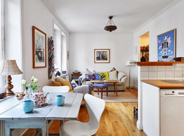 Como decorar espacios peque os trucos geniales hoy lowcost for Decoracion de interiores living pequeno