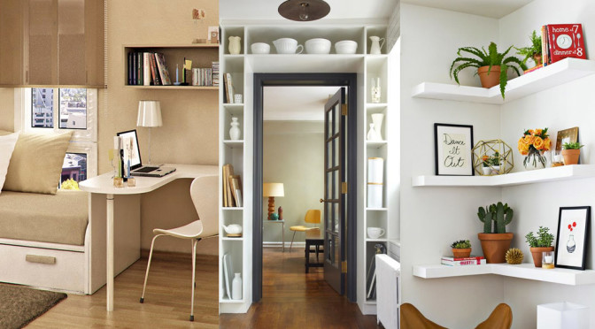Como decorar espacios peque os trucos geniales hoy lowcost for Diseno sala comedor espacios pequenos