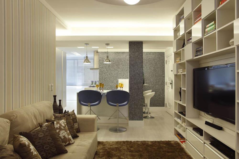 decoraciar espacios pequeños verticalidad