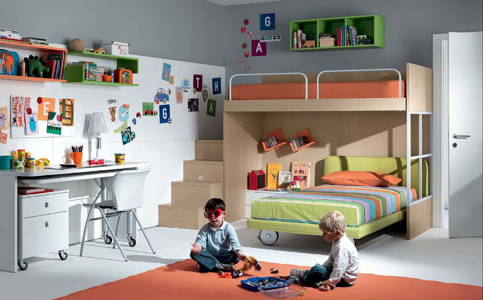 Decoraci n de cuartos infantiles un reto asequible hoy for Ideas decoracion habitaciones bebes