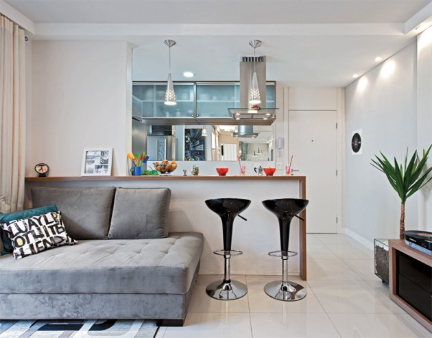 Como decorar espacios peque os trucos geniales hoy lowcost - Sillones para espacios reducidos ...