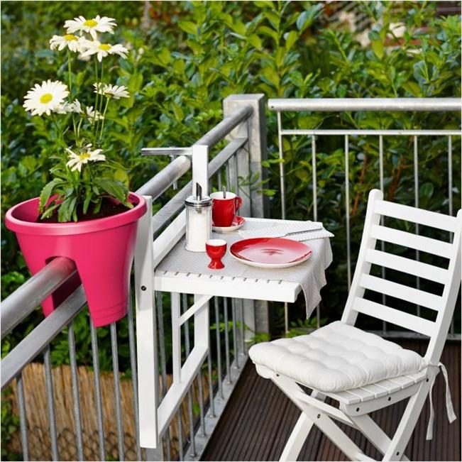 amueblar balcones pequeños