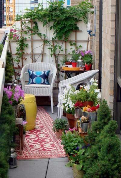 balcones pequeños