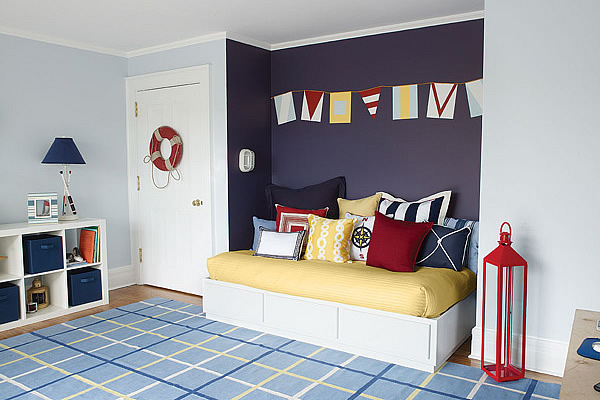 cuartos para niños estilo marinero