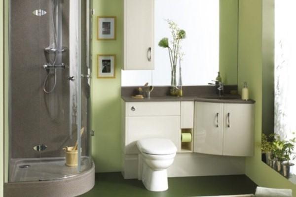 decoracion con cuadros en baño