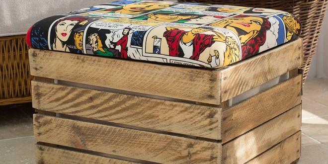 Decoracion con muebles reciclados hoy lowcost - Muebles de decoracion baratos ...