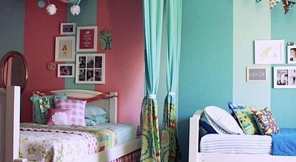 Decoracion cuartos infantiles compartidos hoy lowcost for Programa para decorar habitaciones