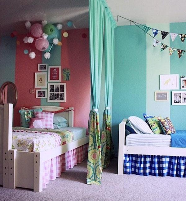 Decoraci n de cuartos infantiles un reto asequible hoy - Decoracion de paredes de habitacion ...