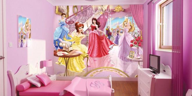 decoracion cuartos infantiles de princesas  Hoy LowCost