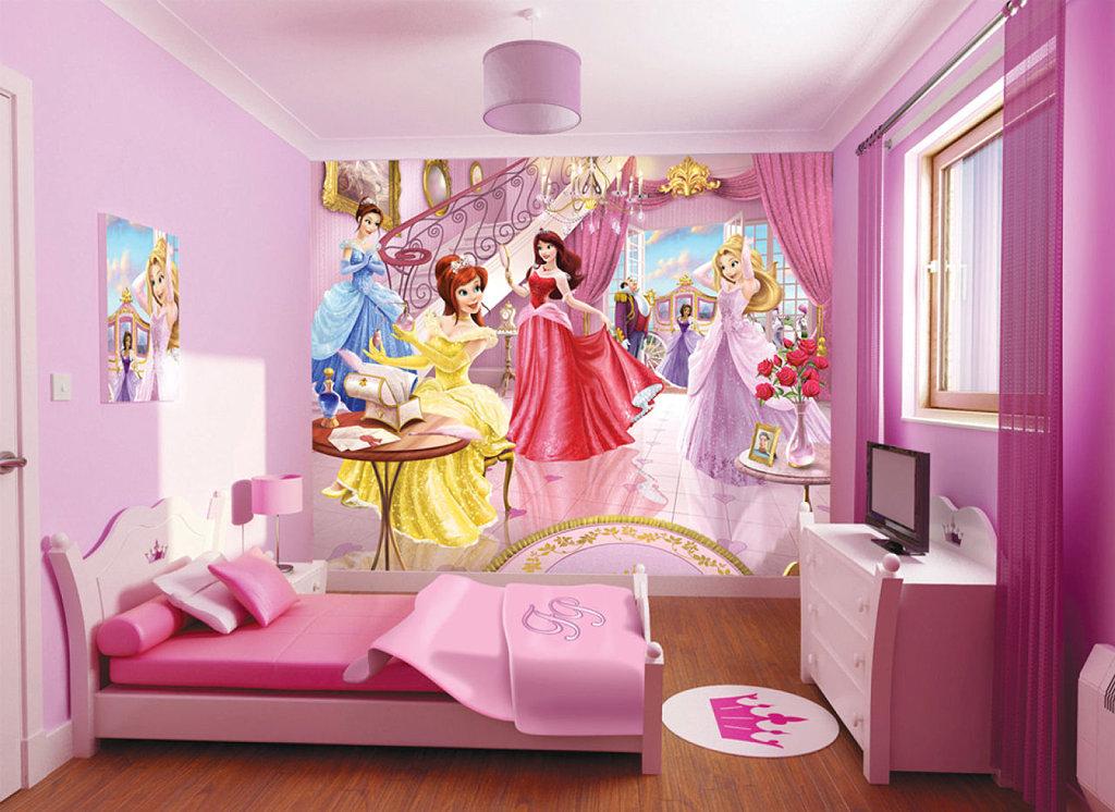 decoración habitaciones de princesas