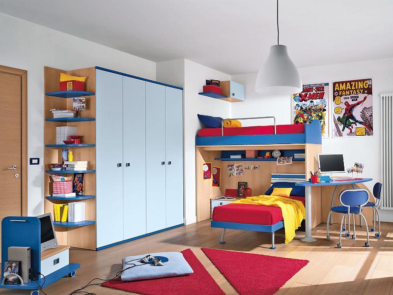 cuartos infantiles compartidos