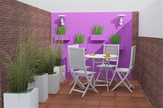 Decoraci n de terrazas y balcones ideas originales hoy - Decoracion aticos pequenos ...