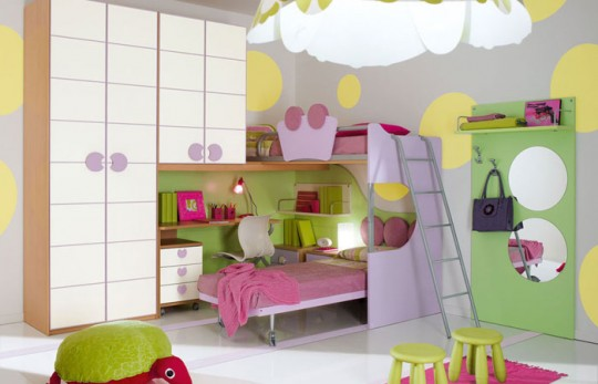 diseo infantil para dormitorios