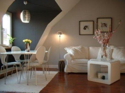 Diseños Sala Comedor Pequeños : Salas y comedores pequeños que comparten espacio con estilo