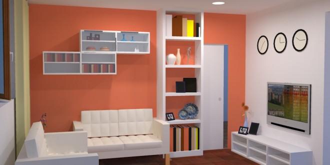 Decoracion salon muebles baratos hoy lowcost - Muebles de decoracion baratos ...